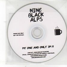 (DV108) Nine Black Alps, My One And Only - 2012 DJ CD