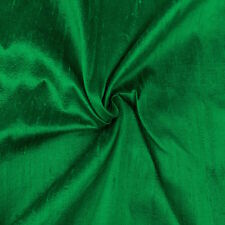 "100% Pure Silk Dupioni Fabric 54""Wide BTY Drape Blouse Dress Craft FREE SHIPPING"