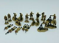 Micro Machines Lot of 20 Micro Military Army Men Soldier Camo Miniature Toys Vtg