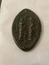 Sceau Ogival En Bronze Haute Epoque Religieux Saints