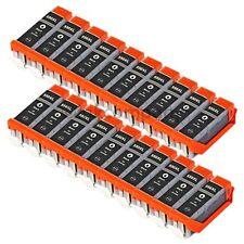 20x Druckerpatronen PGI 550 XL black für PIXMA IP7250 MG5450 MG7150 MG6450 MX925
