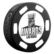 2017 NHL Awards Las Vegas June 21 Souvenir Hockey Puck - Black Poker Chip