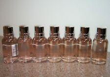 7 x Molton Brown Delicious RHUBARB & ROSE Bath & Shower Gel 1oz each travel size