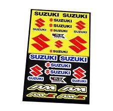 Kit 21 Pegatinas Vinilo de Moto Motocicleta Suzuki Tunning Tunear Restaurar 6334