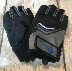 NIKE MEN'S CORE LOCK TRAINING GLOVES - BRAND NEW - SIZE S / XL weights lift