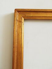 3)-marco baguette dorado años 70 fondo/vaso Rebaje : 29,6 cmX 25,5 cm frame