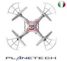 QUADRICOTTERO DRONE 2,4GHZ K 300 HAWK EYE UPGRADE EDITION CON LED TELECAMERA HD
