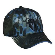 KRYPTEK Blue NEPTUNE Camo w/ Black Warrior Helmet Tactical Shooting Hunting Hat