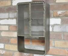 DI Industrial Vintage Metal Mesh 3 Tier Storage Bathroom Wall Shelf Shelving