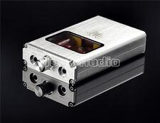 Portable Vacuum&Valve Tube Headphone Amplifier Stereo Hi-Fi Amp built-in battery