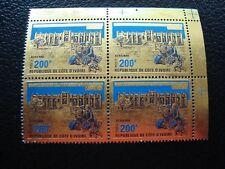 COTE D IVOIRE - timbre yvert et tellier aerien n ° 62 x4 n** (Z7) stamp