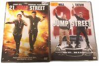 21 Jump street + 22 Jump street (2 DVD) ITALIANO - Usato