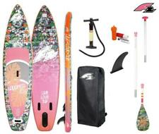 "F2 HAPPINESS 10'6""SUP Board Stand mit Happiness Paddel ISUP 320cm"