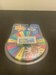 Vintage 1995 Tiger Electronics Wheel Of Fortune Cartridge #5 LCD Game NEW!