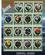 19-20 FORTUNE COMPLETE SET OF 15 CARDS GAGNER/TANEV++ Topps NHL Skate Digital
