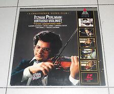 LaserDisc ITZHAK PERLMAN Virtuoso violinist I know I played every note LD dvd