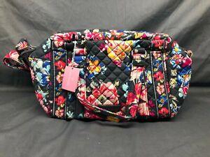 Vera Bradley Iconic 100 Handbag Pretty Posies NEW WITH TAGS!