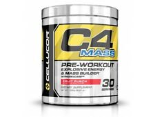 Cellucor C4 MASS Fruit Punch Pre-Workout Supplement | 30 servings | BRAND NEW