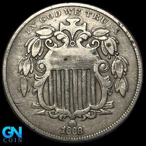 1868 Shield Nickel  --  MAKE US AN OFFER!  #K8632