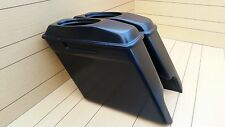 "HARLEY DAVIDSON 6""SADDLEBAGS AND LIDS INCLUDED FOR TOURING BAGGER 1995-2013"