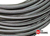 """AN-10 10AN 5/8"""" Braided Stainless Steel Fuel Hose Oil E85 Line 5FT"""