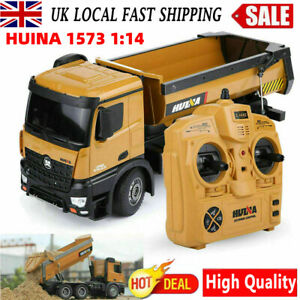 HUINA 1573 1:14 RC Kids Excavator Construction Vehicle Truck Toy Car Toys+Remote