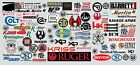 40 Pack Gun Pistol Rifle Hunting Decal Lot 9MM 40 S&W Military - FREE SHIP