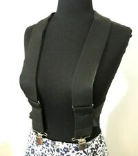 """Holdup Contractor Series 2"""" X Back Work Thick Width Suspenders No Slip Clips"""