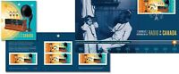 2020 Canada History Of Radio Bundle FDC & Booklet Of 10 Stamps Technology First