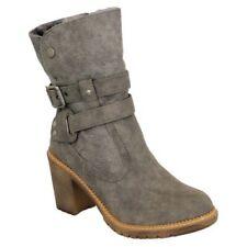 Botas Mujer Chelsea Vaquero Motero Zapatos Plataforma Altas Militar Invierno New