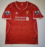 Liverpool Red Home Jersey #15 Daniel Sturridge Warrior Tag sz XL L.F.C. Soccer