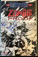 ZOMBIE PROOF #1 Baltimore Comic Con Variant 2007 SIGNED BY JC VAUGHN