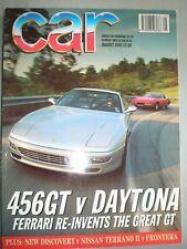 Car Aug 1993 Ferrari 456GT vs Daytona, Discovery vs Terrano II vs Frontera