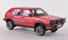 Neo Scale Models Neo44377 VW Golf II Country 1990 Red 1 43