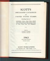 1963 Scott United States Specialized Stamp Catalog 650 pages hardbound