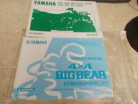 NOS OEM Yamaha Owners Manual 1998 YFM350 LIT-11626-12-48