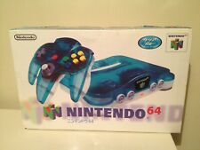 Nintendo 64 N64 Clear Blue Console Brand new (JAPAN IMPORT)