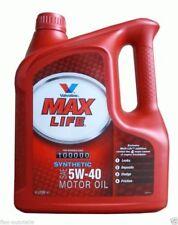 4l VALVOLINE MAX LIFE completamente sintetico 5w40 olio motore VW AUDI