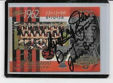 SELECT 1962 ESSENDON PREMIERS CARD SIGNED BY 3 LEGENDS  /MINT CONDITION