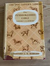 More details for rare pembrokeshire corgi handbook dog book by hubbard 1st 1952 vg condition d/w