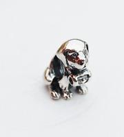 "Genuine Pandora Silver Charm ""Saint Bernard Dog"" - 791515 - retired"