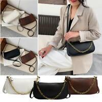Women Shoulder Bag PU Leather Cross-body Messenger Handbag Tote Purse Fashion