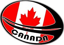 Sticker decal rugby world cup sport car flag ball macbook canada canadian