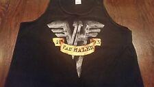 Vtg VAN HALEN Hard Rock Metal Classic Logo 1993 Tank Top Graphic T-Shirt (Large)