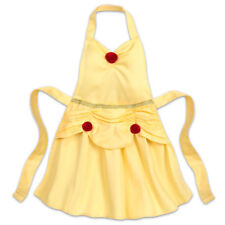 Disney Authentic Princess Belle Ball Gown Apron Beauty & the Beast Kids One Size