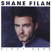 Shane Filan Right Here (2015) 10-track CD Album Neu/Verpackt Westlife