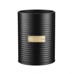 Typhoon Otto Black Steel Utensil Storage Pot Holder