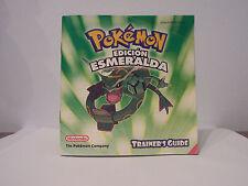 manual de instrucciones pokemon esmeralda game boy gba guia entrenador 8812