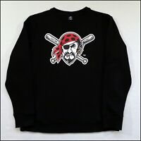 Majestic x Pittsburgh Pirates MLB Sweatshirt | Large | Black | Rare