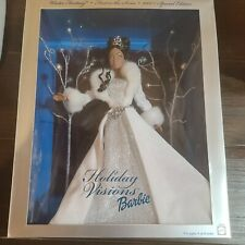 Holiday Visions Winter Fantasy Barbie Doll 2003 African American NEW!